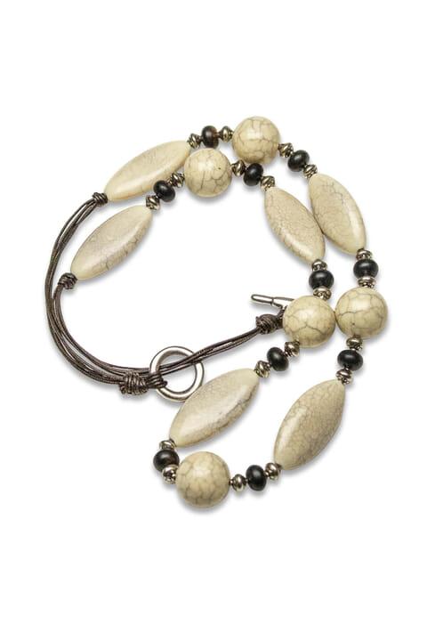 Contemporary bead necklace
