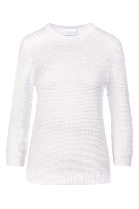 Textured cotton top