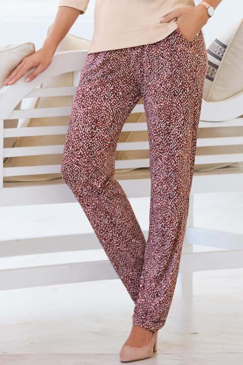 Print Jersey Trouser