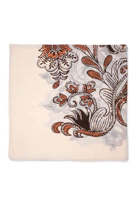 Italian print scarf